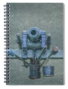 Cannon Civil War Artillery Spiral Notebook