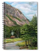 Cannon Cliff New Hampshire Spiral Notebook