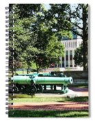 Cannon Near Tecumseh Statue Spiral Notebook