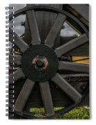 Cannon Wheel Spiral Notebook