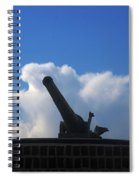 Cannons At Fort Moultrie Charleston Spiral Notebook