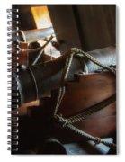 Cannons Below Spiral Notebook
