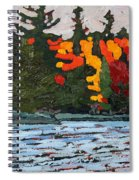 Canoe Lake Colours Spiral Notebook