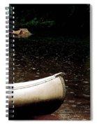 Canoe Spiral Notebook