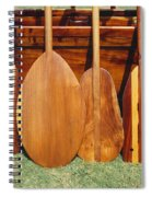 Canoe Paddles Spiral Notebook