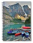 Canoe Paradise Spiral Notebook