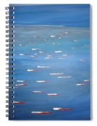Canoe Race In Huahine Spiral Notebook