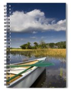 Canoeing In The Everglades Spiral Notebook