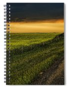 Canola And The Road Ahead Spiral Notebook