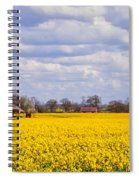 Canola Field Spiral Notebook