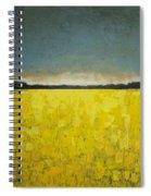 Canola Field N0 1 Spiral Notebook