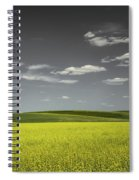 Canola Hills And Dales Spiral Notebook