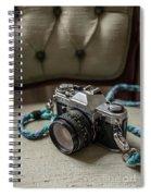 Canon Ae-1 Film Camera Spiral Notebook