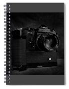 Canon F-1 Spiral Notebook