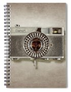 Canonete Film Camera Spiral Notebook