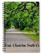 Canopy Road Spiral Notebook