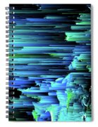 Can't Take The Sky From Me - Pixel Art Spiral Notebook