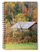 Cantilever Barn - Autumn Spiral Notebook