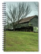 Cantilever Barn Sevier County Tennessee Spiral Notebook