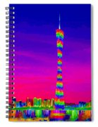 Canton Tower  Spiral Notebook