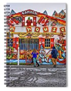 Canuck Funhouse Spiral Notebook
