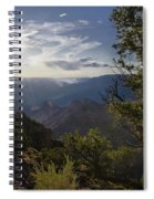 Canyon Afternoon Spiral Notebook