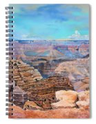 Canyon Blues Spiral Notebook