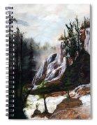 Canyon Falls Spiral Notebook