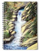 Canyon Falls Spiral Notebook