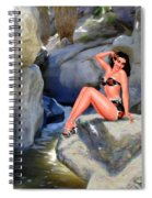 Canyon Girl Spiral Notebook