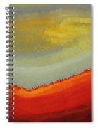 Canyon Outlandish Original Painting Spiral Notebook