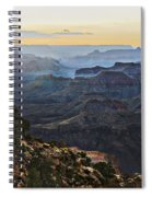 Canyon Sundown Spiral Notebook