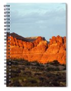 Canyonlands At Sunset Spiral Notebook