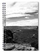 Canyonlands National Park Utah Pan 06 Bw Spiral Notebook