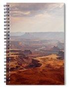 Canyonlands Panorama Spiral Notebook