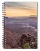 Canyonlands Sunrise Spiral Notebook