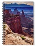 Canyonlands Vista  Spiral Notebook