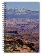 Canyons Of Dead Horse State Park Spiral Notebook