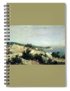 Cape Ai-todor Crimea 1879 21h33 5 Ivan Ivanovich Shishkin Spiral Notebook