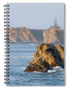 Cape Arago Lighthouse Spiral Notebook