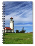 Cape Blanco Lighthouse Above The Rope Spiral Notebook