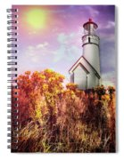 Cape Blanco Lighthouse In Oregon Spiral Notebook
