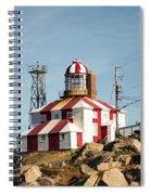 Cape Bonavista Lighthouse, Newfoundland, Canada Old And New Lamp Spiral Notebook