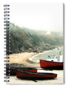 Cape Breton Fishing Boats Spiral Notebook