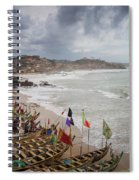 Cape Coast Fishing Village Spiral Notebook