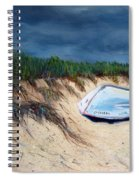 Cape Cod Boat Spiral Notebook