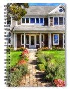Cape Cod Home Spiral Notebook