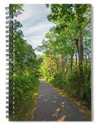 Cape Cod Rail Trail Trees Eastham Ma 2 Spiral Notebook