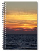 Cape Cod Sunset Spiral Notebook