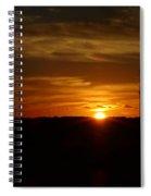 Cape Cod Sunset Spiral Notebook